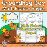 Groundhog Day Math Picture Pages