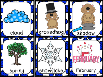 Groundhog Day - Math and Literacy Activities