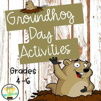 Groundhog Day Math and Reading Activities