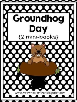 First Grade Mini-Books: Groundhog Day