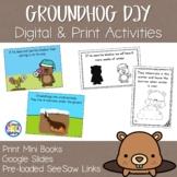 Groundhog Day Mini Books