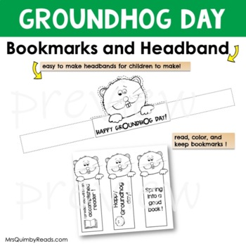 Groundhog Day | Reading-Writing | Literacy Activity | Primary Learners