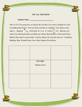 Groundhog Day Mini Unit-  Filled with engaging activities for your students