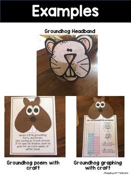 Groundhog Day Mini Unit with Craftivity