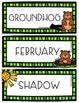 Groundhog Day Mini Writing Unit
