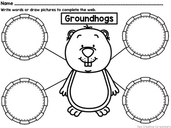 Groundhog Day {Mini-book, Writing Prompts, Graphing Activities and More!}