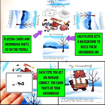 Groundhog Day Missing Factors (Multiplication and Division) Game