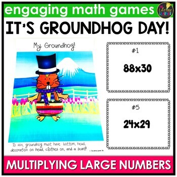Groundhog Day Multiplying Large Numbers Game