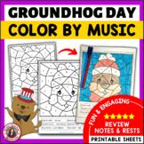 Music Groundhog Day Activities: 12 Groundhog Day Music Col