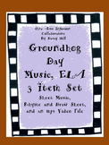 Groundhog Day Music, ELA 3 Item Set