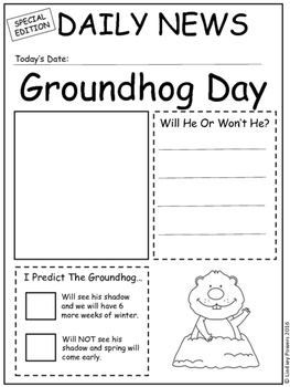 Groundhog Day Newsletters