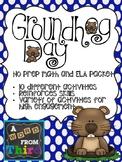 Groundhog Day No Prep Packet