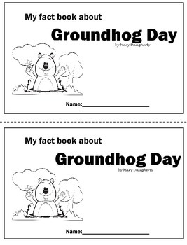 Groundhog Day Nonfiction CLOSE Book