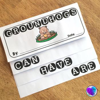 Groundhog Day Nonfiction Flip Book