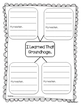 Groundhog Day Nonfiction Pack {Math & Literacy Bundle}