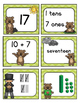 Groundhog Day Number Match Center Activity