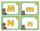 Groundhog Day Alphabet Match Center Activity