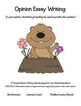 Groundhog Day: Opinion Writing
