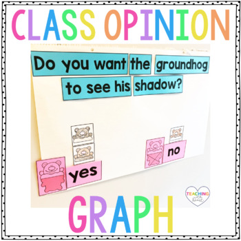Groundhog Day Opinion Writing Craftivity