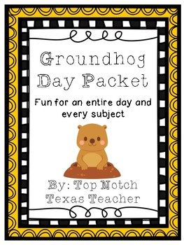Groundhog Day Packet