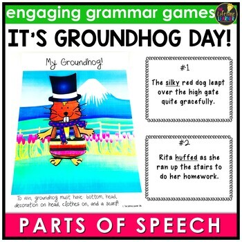 Groundhog Day Parts of Speech Game