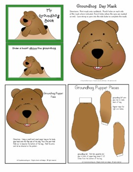Groundhog Day Patterns, Writing Practice, and Learning Centers
