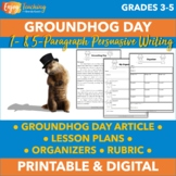 Groundhog Day   One- and Five Paragraph Prompts   Argumentative Writing