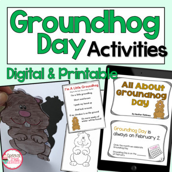 Groundhog Day Poem and Art Activity