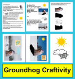 Groundhog Day Activities: Craftivity & Poem / Song
