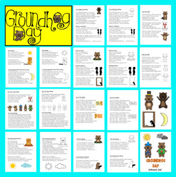 Groundhog Day Activities: Poems and Songs for Shared Reading and Fluency
