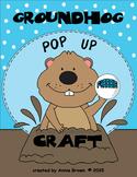 Groundhog Day - Pop Up Craft