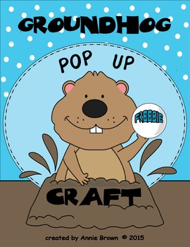 Groundhog Day - Pop Up Craft