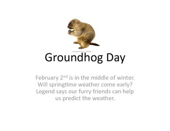 Groundhog Day PowerPoint