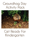 Groundhog Day Pre-K Activity Pack