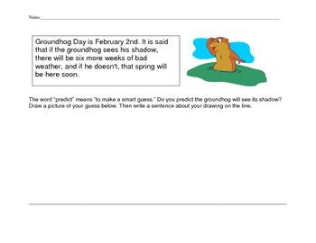 Groundhog Day Predicting Homework