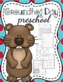 Groundhog Day Preschool Printables