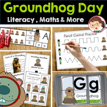 Groundhog Day Preschool and... by Educational Creations | Teachers ...