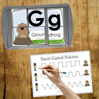 Groundhog Day Preschool and PreK Literacy and Maths Activities