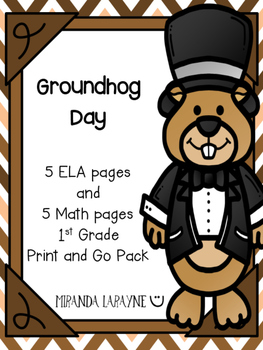 Groundhog Day - Print and Go Pack