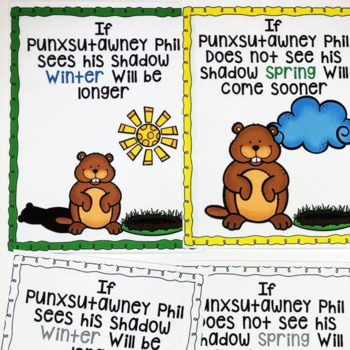 Groundhog Day Printables