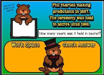 Groundhog Day Promethean Activinspire Flipchart Lesson