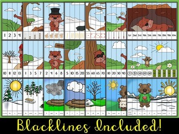 Groundhog Day Puzzle Strips