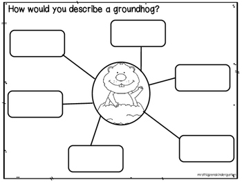 Groundhog Day QR Codes & Activities