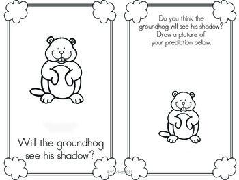 Groundhog Day Reader Freebie
