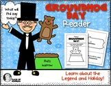 Groundhog Day Reader {Legend & Tradition} for Kindergarten and First Grade