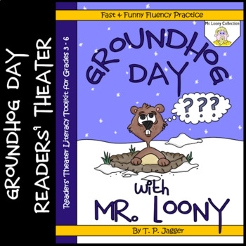 Winter~Groundhog Day Readers' Theater Script~Groundhog Day Literacy Activities