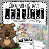 Groundhog Day Reading Activity {Webquest & Collaborative Poster}