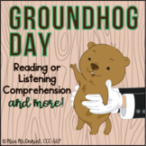 Groundhog Day Reading Comprehension | Non-fiction Text, Qu