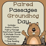 Groundhog Day Reading Comprehension Paired Passages