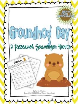 Groundhog Day Research Scavenger Hunt